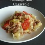 Lazy Cook's Unstuffed Cabbage Roll Casserole
