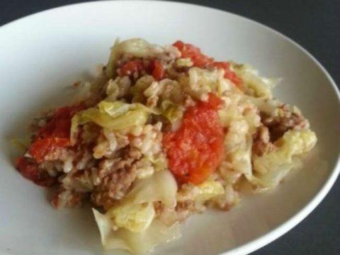 Unstuffed Cabbage Rol lCasserole
