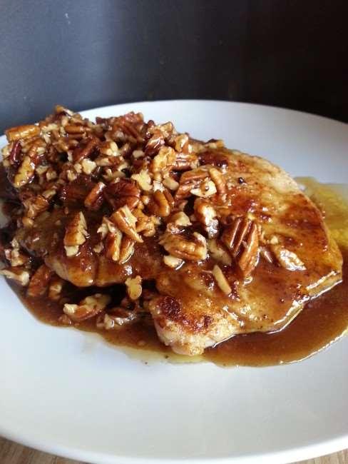 Honey Pecan Pork Cutlets