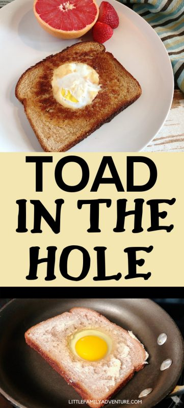 toad in the hole collage