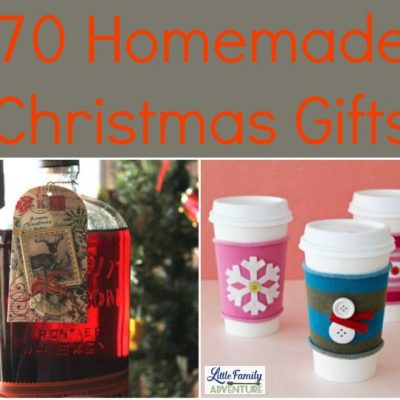70 Homemade Christmas Gifts
