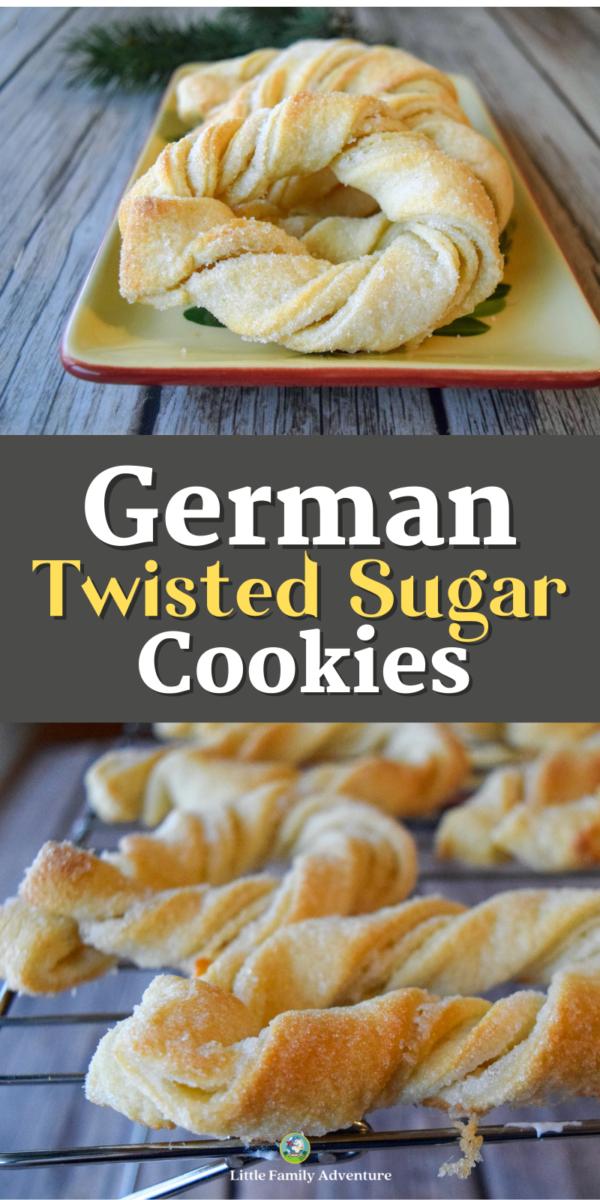 German twsited siuar cookies