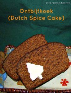 dutch spice cake