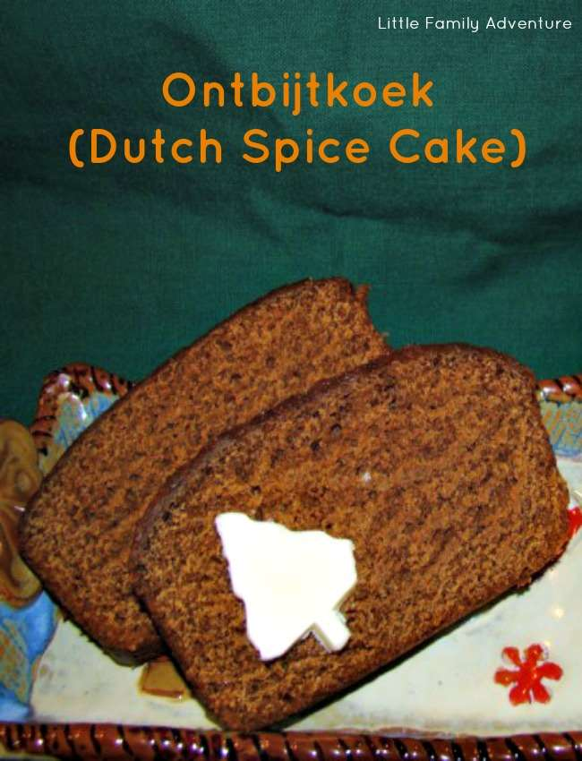 dutch spice cake