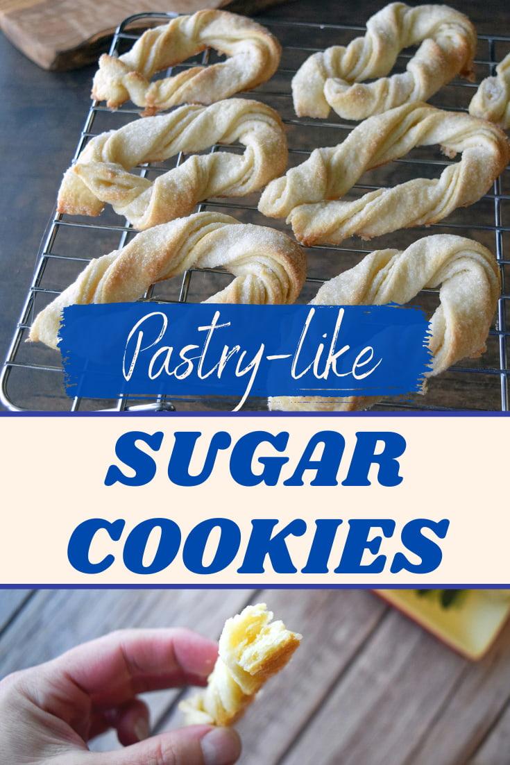 pastry like sugar cookies