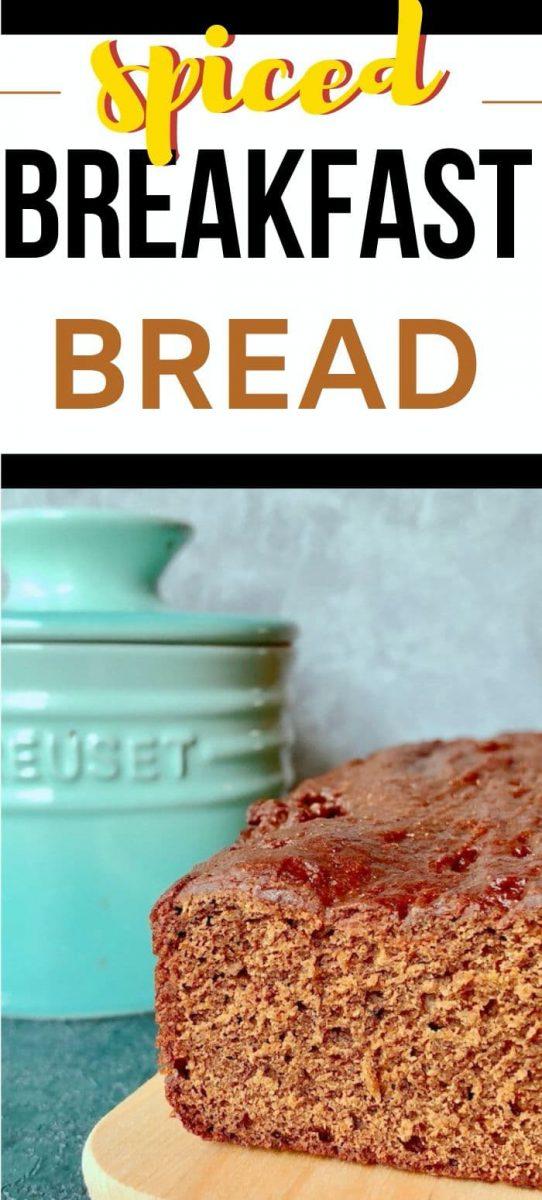 spiced breakfast bread