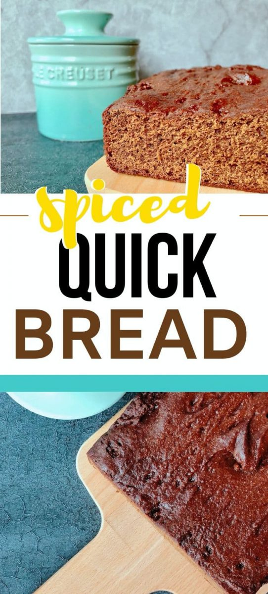 spiced quick bread
