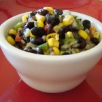 Quick and healthy salsa great for chips or on top tacos or burritos.
