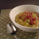 Dutch Split Pea Soup with Bacon