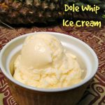 Disney's Dole Whip made at home with a 5 ingredient recipe.