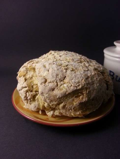 Irish Soda Bread with Guinness Dipping Sauce