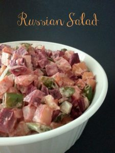 Russian Salad - Russian Potato Salad