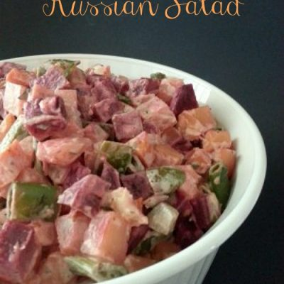 Try This Russian Salad for a New Take on Potato Salad