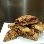 Whole Wheat Apple & Pecan Scones - A delicious moist scone with no refined sugars, whole wheat, and oats. #healthy #realfood #recipe