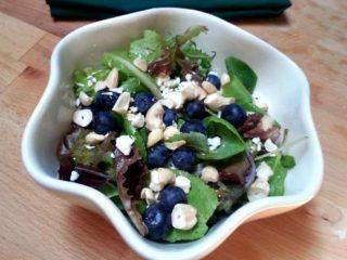 Blueberry, Cashew, and Feta Salad
