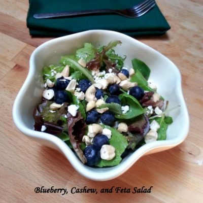 Blueberry, Cashew, and Feta Salad