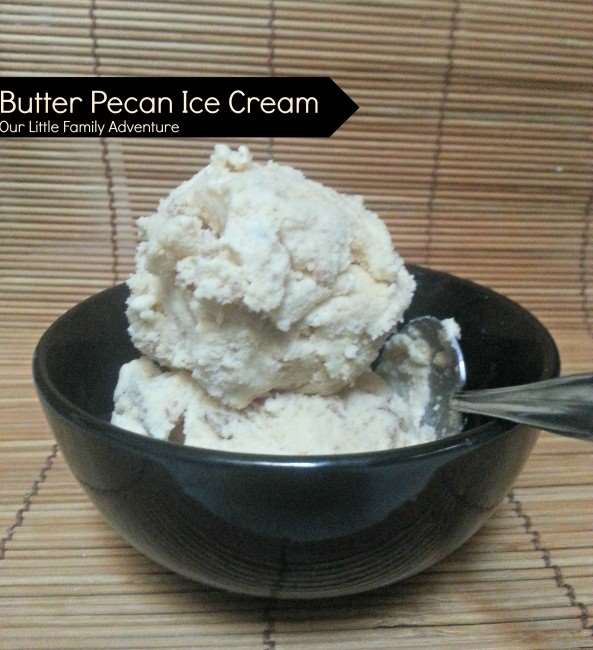 Butter Pecan Ice Cream | Little Family Adventure