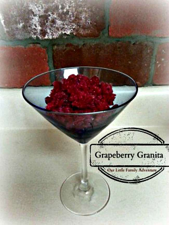 Grape-berry Granita