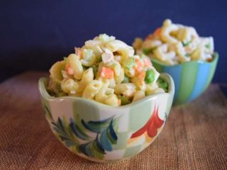 Hawaiian Plate Lunch Macaroni Salad