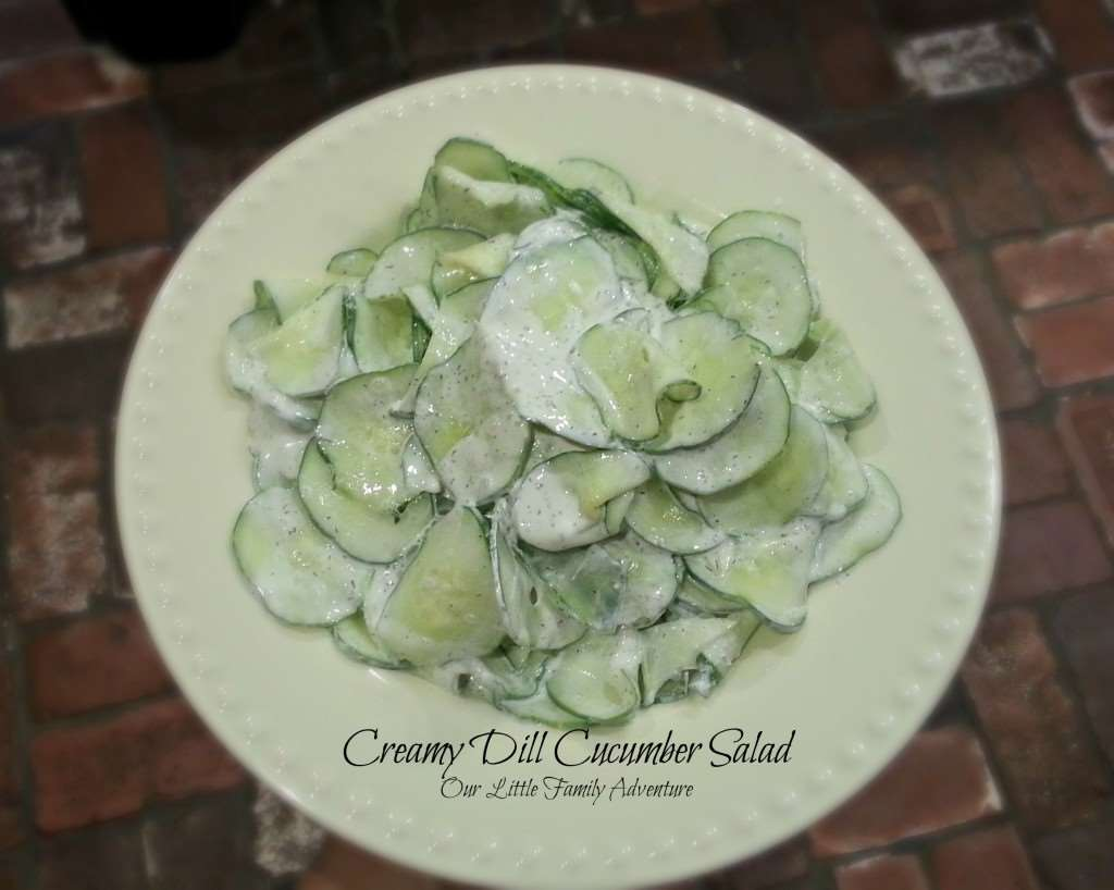and easy side salad? Look no further! This creamy dill cucumber salad ...