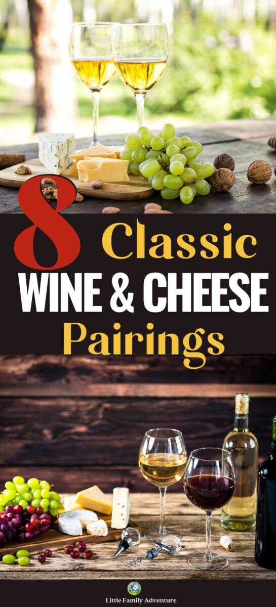 classic wine cheese paring