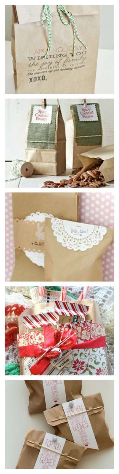 Homemade Food Gift Packaging: 5 Ways to Dress Up a Brown Bag