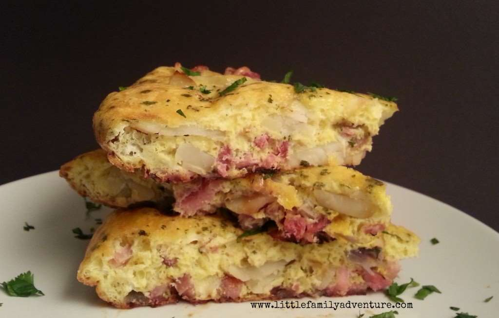 Spanish Tortilla with Ham