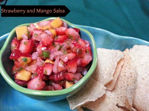 Strawberry Mango Fruit Salsa