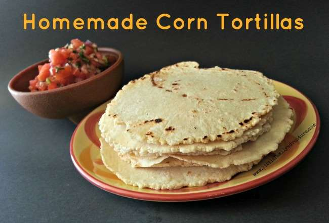 Corn Tortillas- Little Family Adventure - Step by Step instructions to homemade tortillas using just 2 ingredients. #glutenfree #realfood #cleaneating