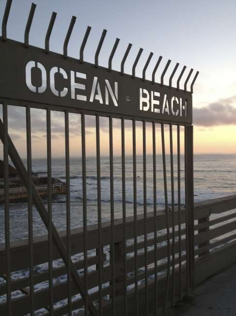 My Hometown the Ocean Beach Pier - San Diego © Stephanie Hess