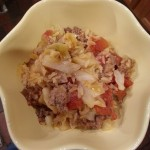 Unstuffed Cabbage Casserole #recipe