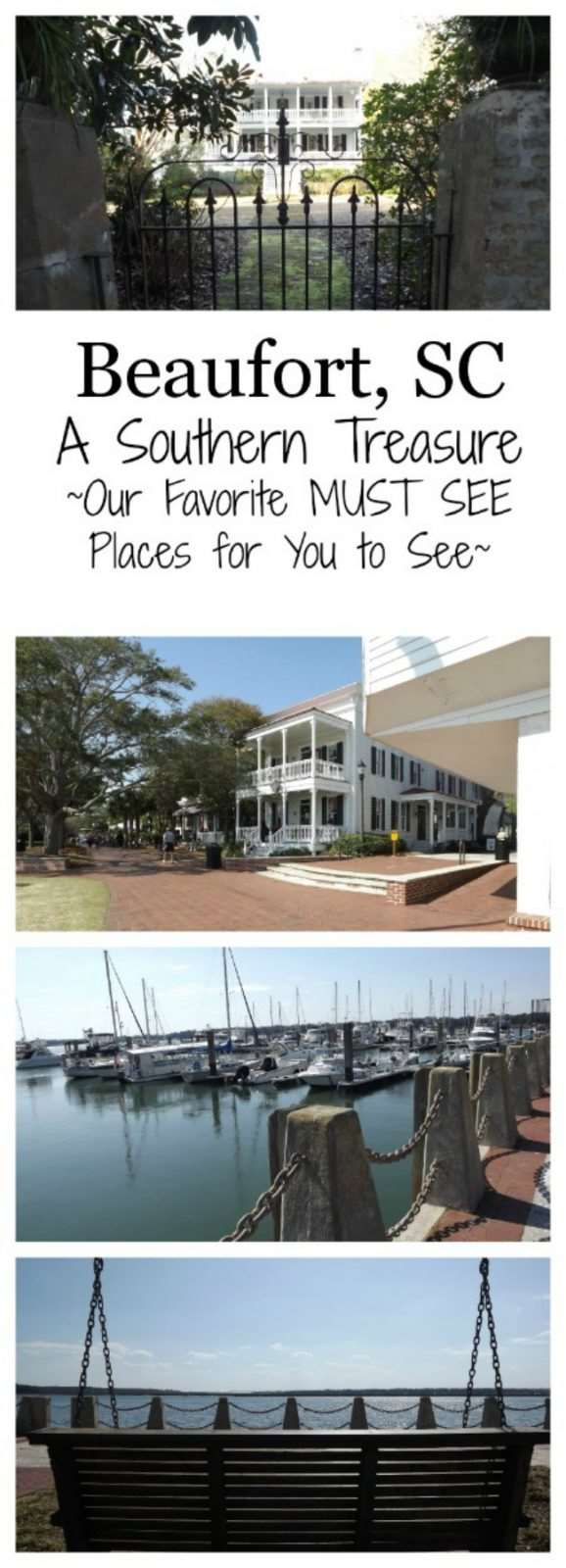 Beaufort, SC: A Southern Treasure - A great family friendly vacation spot in coastal South Carolina #coastalliving #familytravel #travel #southcarolina #familyfun