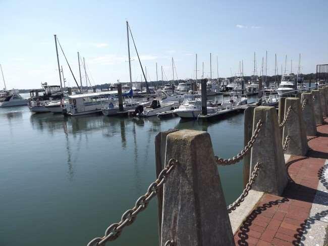 Beaufort. SC Marina