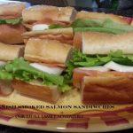 Danish Smoked Salmon Sandwiches
