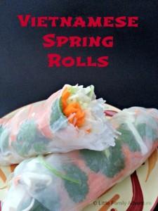 pork spring rolls