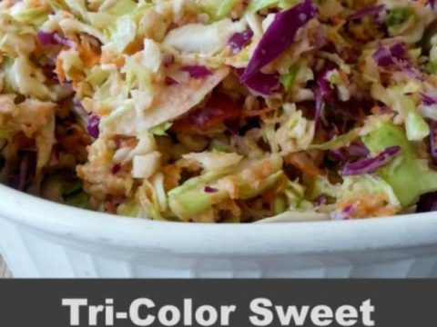 Tri-color Coleslaw