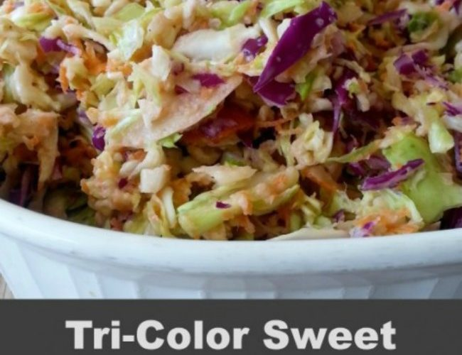 Copycat Recipe for Rudy's  Coleslaw
