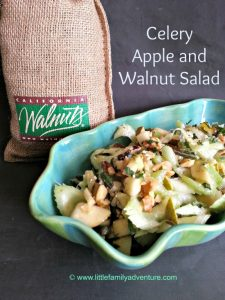 Celery Apple and Walnut Salad