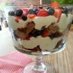 Frangelico Berry Trifle | Little Family Adventure - The ultimate in summer dessert with pound cake, Nutella chocolate, hazelnut pastry cream, and fresh berries. #recipe #nomnom @Frangelico