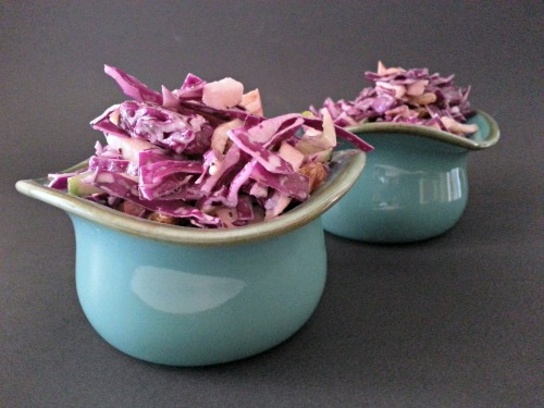Poppy Seed Red Cabbage- February meal plan