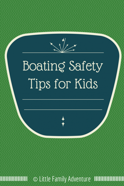 Boating Safety Tips for Children