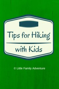 Tips for Hiking with Kids |Little Family Adventure - Hiking is a great way to connect with family. Be prepared and have fun. #outdooractivities #summerfun #hiking