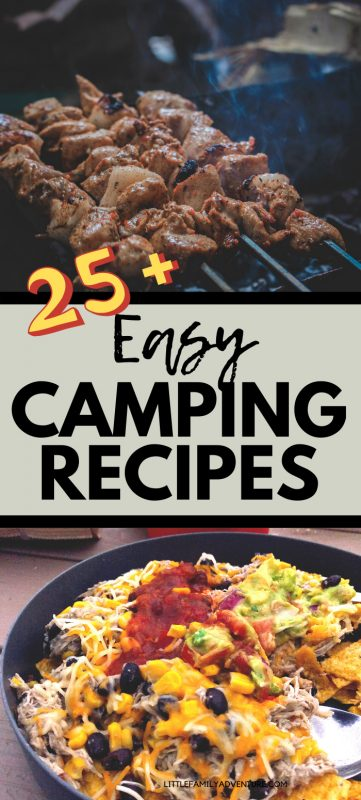 camping food recipes pin