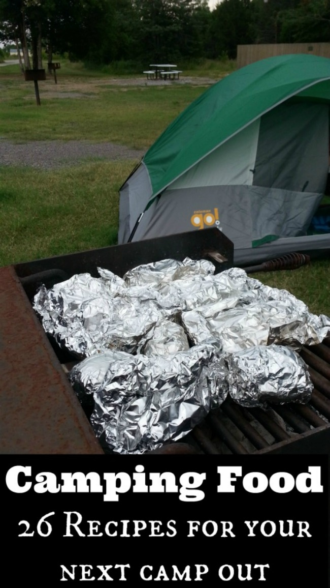 Camping Food- 26 delicious camping recipes for your next camp out