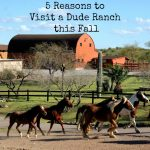 5 Reasons to Visit a Dude Ranch this Fall #travel #wildwest #adventure #familyfun #vacation