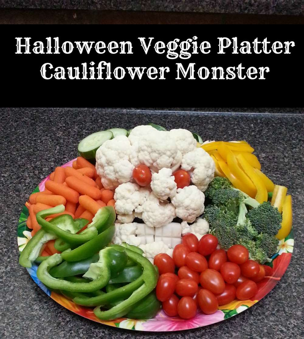 halloween veggie platter little family adventure