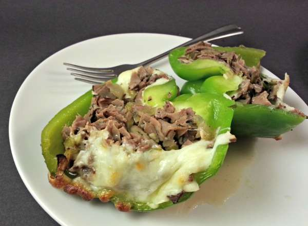 Philly Cheesesteak Stuffed Peppers 2