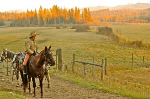 5 Reasons to Visit a Dude Ranch in the Fall - Western Pleasure Ranch #travel #fallactivities #familyfun