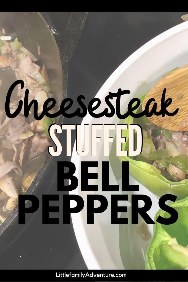 cheesesteak stuffed bell peppers