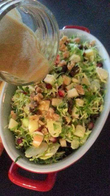 Brussels sprout salad 3